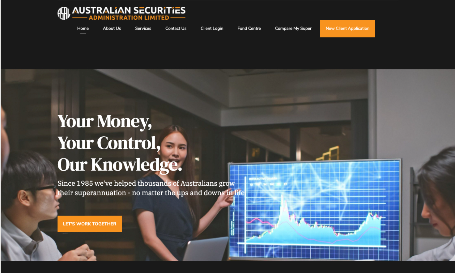 asal-group-scam-homepage